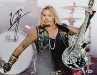 Vince Neil Signed Motley Crue 11x14 Photo (Beckett COA) at PristineAuction.com