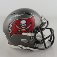 Antonio Brown Signed Buccaneers Speed Mini-Helmet (JSA COA) at PristineAuction.com