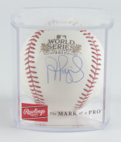 Albert Pujols Signed 2011 World Series Baseball With Display Case (JSA COA) at PristineAuction.com