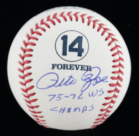 "Pete Rose Signed OML Baseball Inscribed ""75-76 WS Champs"" (JSA COA) at PristineAuction.com"