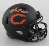 "Mike Singletary Signed Bears Eclipse Alternate Speed Mini Helmet Inscribed ""HOF 98"" (Beckett COA) (See Description) at PristineAuction.com"