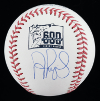Albert Pujols Signed OML Home Run Logo Baseball (JSA COA) at PristineAuction.com