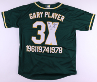 """Gary Player Signed Jersey Inscribed """"Take Care"""" & """"2021"""" (JSA COA) at PristineAuction.com"""