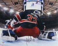 Cam Talbot Signed Rangers 11x14 Photo (PSA Hologram) at PristineAuction.com