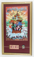"Disney's ""Splash Mountain"" 15x26 Framed Print Display with Metal Ride Lapel Pin & Vintage Disney World Ticket Book at PristineAuction.com"