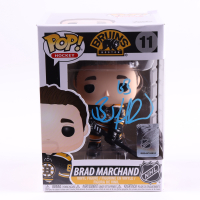 "Brad Marchand Signed ""Boston Bruins"" #11 Funko Pop! Vinyl Figure (Marchand COA) at PristineAuction.com"