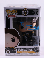 David Pastrnak Signed Bruins #57 Funko Pop! Vinyl Figure (Pastrnak COA) (See Description) at PristineAuction.com