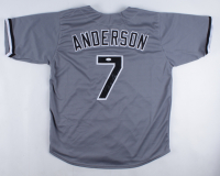 Tim Anderson Signed Jersey (JSA Hologram) at PristineAuction.com