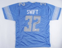 D'Andre Swift Signed Jersey (JSA Hologram) at PristineAuction.com