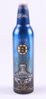 "Patrice Bergeron Signed Bruins ""2011 Stanley Cup Champions"" Bud Light Bottle (Bergeron COA) at PristineAuction.com"