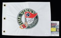 Vince Gill Signed The Vinny Logo Flag (JSA COA) at PristineAuction.com