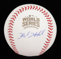 Kyle Hendricks Signed 2016 World Series Baseball (Beckett COA) at PristineAuction.com