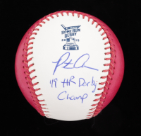 "Pete Alonso Signed 2019 Home Run Derby OML Baseball Inscribed ""'19 HR Derby Champ"" (MLB Hologram) at PristineAuction.com"