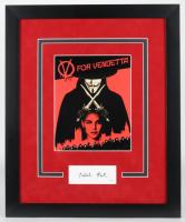"Natalie Portman Signed ""V for Vendetta"" 18.5x22.5 Custom Framed Photo Display (AutographCOA COA) at PristineAuction.com"