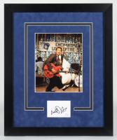 "Michael J. Fox Signed ""Back To the Future"" 18.25x22.25 Custom Framed Cut Display (AutographCOA COA) at PristineAuction.com"