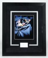 "Val Kilmer Signed ""Batman Forever"" 18.5x22.5 Custom Framed Photo Display (AutographCOA COA) (See Description) at PristineAuction.com"