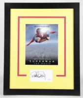 "Richard Donner Signed ""Superman"" 18.5x22.5 Custom Framed Photo Display (AutographCOA COA) (See Description) at PristineAuction.com"