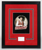 "Val Kilmer Signed ""Tombstone"" 18.5x22.5 Custom Framed Cut Display (AutographCOA COA) at PristineAuction.com"