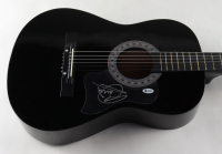 """Barry Gibb Signed 38"""" Acoustic Guitar (Beckett Hologram) at PristineAuction.com"""