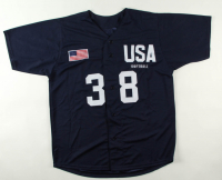 """Cat Osterman Signed Jersey Inscribed """"USA"""" (Beckett COA) at PristineAuction.com"""