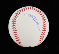 """""""The Sandlot"""" OML Baseball Cast-Signed By (6) with Tom Guiry, Chauncey Leopardi, Marty York, Victor Di Mattia (Beckett COA) at PristineAuction.com"""
