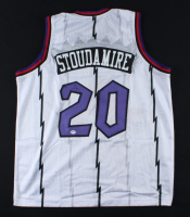 Damon Stoudamire Signed Jersey (PSA COA) at PristineAuction.com