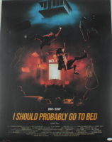 """Dan Smyers & Shay Mooney Signed LE """"I Should Probably Go To Bed"""" 24x36 Poster (ACOA COA) at PristineAuction.com"""