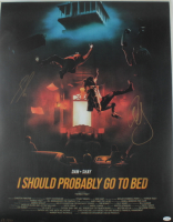 "Dan Smyers & Shay Mooney Signed LE ""I Should Probably Go To Bed"" 24x36 Poster (AutographCOA COA) at PristineAuction.com"