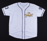 """""""The Sandlot"""" Jersey Cast-Signed by (6) with Tom Guiry, Chauncey Leopardi, Marty York, Shane Obedzinski (Beckett COA) at PristineAuction.com"""
