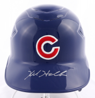 Kyle Hendricks Signed Cubs Full-Size Batting Helmet (Fanatics Hologram) (See Description) at PristineAuction.com