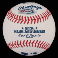 "Bruce Bochy Signed OML Baseball Inscribed ""2003 W's"" (JSA COA) at PristineAuction.com"