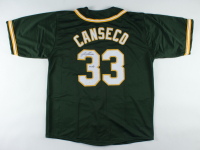 """Jose Canseco Signed Jersey Inscribed """"40/40"""" (JSA COA) at PristineAuction.com"""