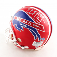 Jim Kelly Signed Bills Full-Size Authentic On-Field Helmet with Multiple Inscriptions (Beckett COA) at PristineAuction.com