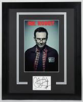 "Christian Slater Signed ""Mr. Robot"" 18.25x22.25 Custom Framed Cut Display (AutographCOA COA) (See Description) at PristineAuction.com"