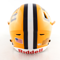 """Joe Burrow Signed LSU Tigers Full-Size Authentic On-Field SpeedFlex Helmet Inscribed """"19 Champs"""" (Fanatics Hologram) at PristineAuction.com"""