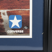 Don Mattingly Signed Yankees 22x29 Custom Framed Official 1985 Converse Hitman Poster Display (Ironclad Hologram) (See Description) at PristineAuction.com