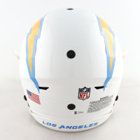 Justin Herbert Signed Chargers Full-Size Authentic On-Field SpeedFlex Helmet (Beckett COA) at PristineAuction.com