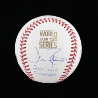 "Dave Roberts Signed 2020 World Series Baseball Inscribed ""2020 WS Champs"" (JSA COA) at PristineAuction.com"