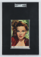 Judy Garland 1948 Victoria Chocolates Postcard (SGC 4.5) at PristineAuction.com