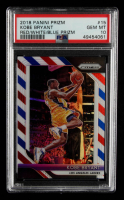 Kobe Bryant 2018-19 Panini Prizm Prizms Red White and Blue #15 (PSA 10) at PristineAuction.com