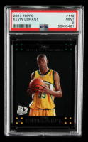 Kevin Durant 2007-08 Topps #112 RC (PSA 9) at PristineAuction.com