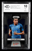 Kylian Mbappe 2018 Panini Prizm World Cup #80 (BCCG 10) at PristineAuction.com