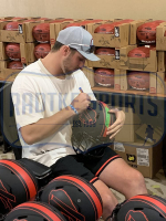 Josh Allen Signed Bills Full-Size Authentic On-Field Eclipse Alternate Speed Helmet (Radtke Hologram) at PristineAuction.com