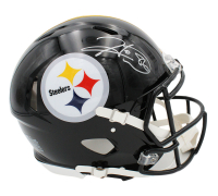 Hines Ward Signed Steelers Full-Size Authentic On-Field Speed Helmet (Radtke Hologram) at PristineAuction.com