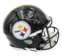 Chase Claypool Signed Steelers Full-Size Authentic On-Field Speed Helmet (Radtke Hologram) at PristineAuction.com