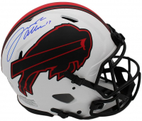 Josh Allen Signed Bills Full-Size Authentic On-Field Lunar Eclipse Alternate Speed Helmet (Radtke Hologram) at PristineAuction.com