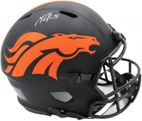 Melvin Gordon Signed Broncos Full-Size Authentic On-Field Eclipse Alternate Speed Helmet (Radtke Hologram & Gordon Hologram) at PristineAuction.com