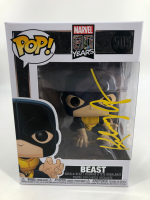 "Kelsey Grammer Signed ""Marvel 80 Years"" Beast #505 Funko Pop! Vinyl Figurine (PSA COA) at PristineAuction.com"