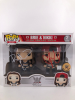 Brie Bella & Nikki Bella Signed WWE Funko Pop! Vinyl Figure Set (JSA COA) at PristineAuction.com