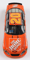 Tony Stewart 2005 NASCAR #20 Home Depot - Indianapolis Win - Raced Version - 1:24 Premium Action Diecast Car at PristineAuction.com